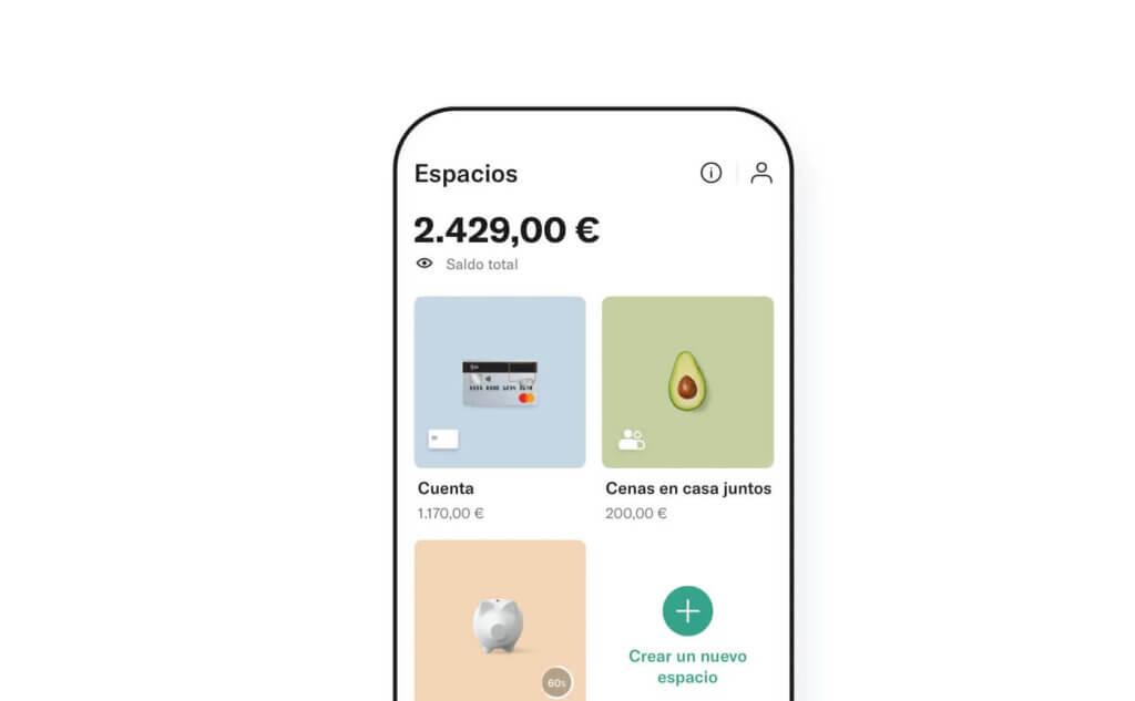 Espacios en App